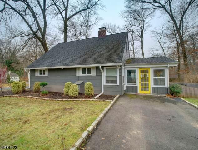 31 Vista Lane, New Providence Boro, NJ 07974 (MLS #3635452) :: The Dekanski Home Selling Team