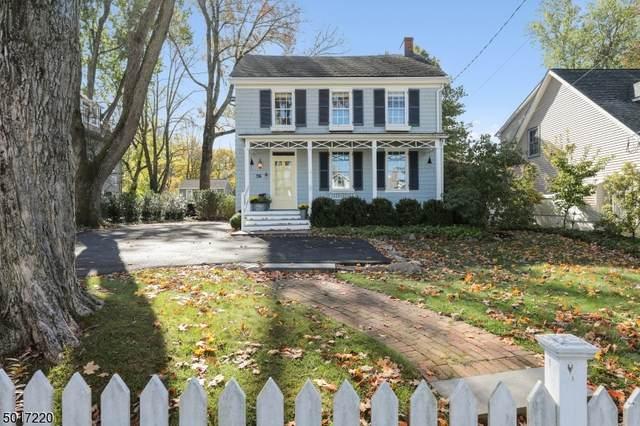 36 W Main St, Mendham Boro, NJ 07945 (MLS #3670653) :: William Raveis Baer & McIntosh