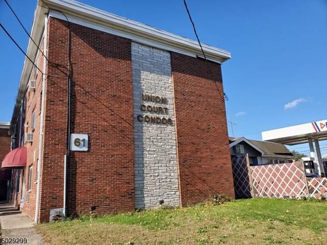 61 Union Ave D5, Belleville Twp., NJ 07109 (MLS #3675848) :: The Sue Adler Team