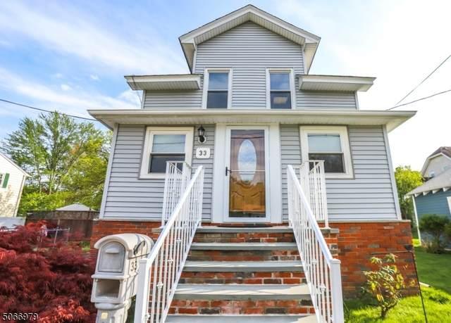 33 Personette Ave, Verona Twp., NJ 07044 (MLS #3709747) :: Corcoran Baer & McIntosh