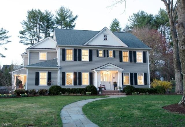 20 Country Club Dr, Chatham Twp., NJ 07928 (MLS #3465763) :: The Sue Adler Team