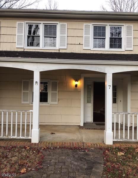 7 Jane Terrace, Mendham Twp., NJ 07945 (MLS #3601173) :: William Raveis Baer & McIntosh