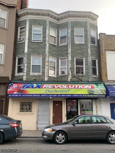 322 Market St/, Paterson City, NJ 07501 (MLS #3608585) :: The Karen W. Peters Group at Coldwell Banker Realty