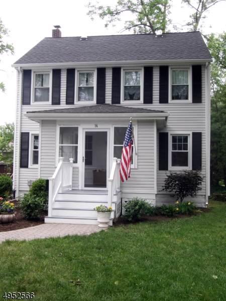 14 Ward Pl, Chatham Boro, NJ 07928 (MLS #3611320) :: The Sikora Group