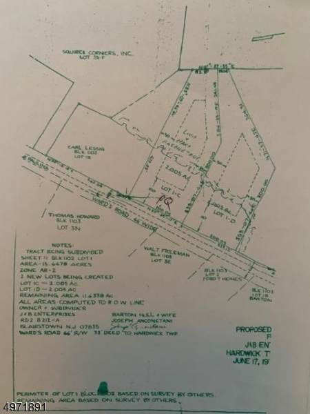 8 Ward Rd, Hardwick Twp., NJ 07825 (MLS #3624242) :: Pina Nazario
