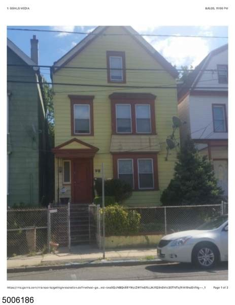 98 Ellis Ave, Irvington Twp., NJ 07111 (MLS #3654868) :: The Sue Adler Team