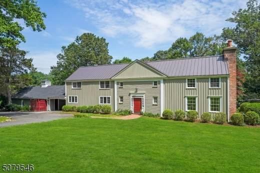 181 Mount Harmony Rd, Bernardsville Boro, NJ 07924 (MLS #3720135) :: SR Real Estate Group