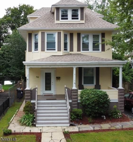 40 Boyden St, East Orange City, NJ 07017 (MLS #3731783) :: The Dekanski Home Selling Team