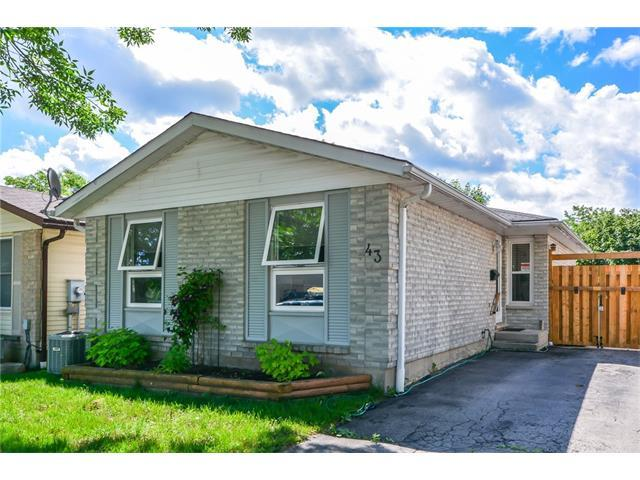 43 Leacock Avenue, Guelph, ON N1E 6P9 (MLS #30582760) :: The Dream Team - Re/Max Real Estate Centre
