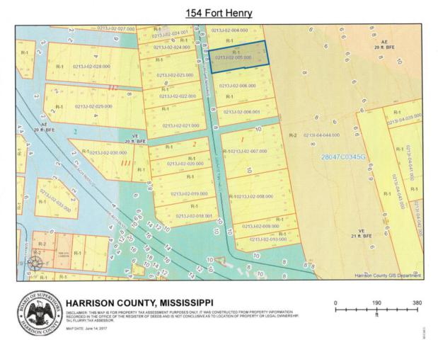 154 Fort Henry Ave, Pass Christian, MS 39571 (MLS #319032) :: The Sherman Group