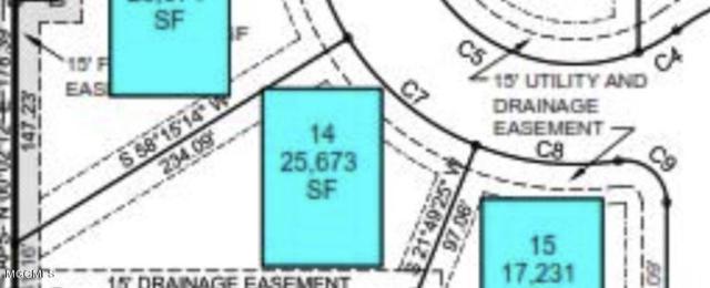 Lot 14 Grand Oaks Dr, Gulfport, MS 39503 (MLS #327277) :: Amanda & Associates at Coastal Realty Group