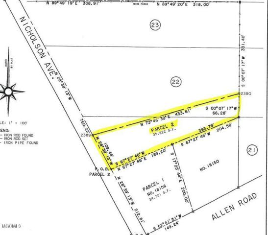 Parcel B Nicholson Rd, Long Beach, MS 39560 (MLS #335071) :: The Demoran Group of Keller Williams