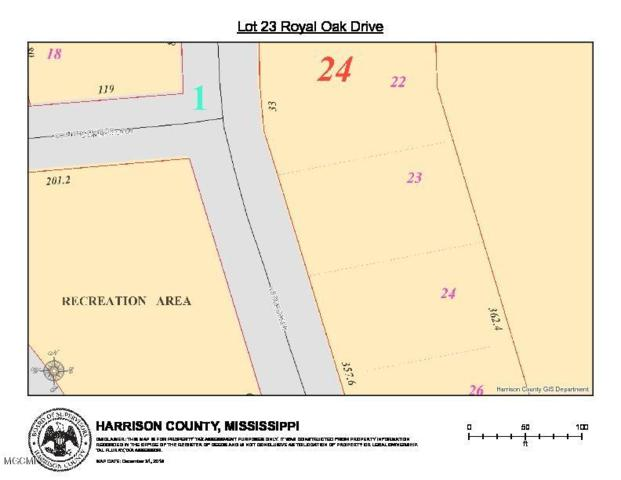 Lot 23 Royal Oak Blvd, Pass Christian, MS 39571 (MLS #342379) :: Amanda & Associates at Coastal Realty Group