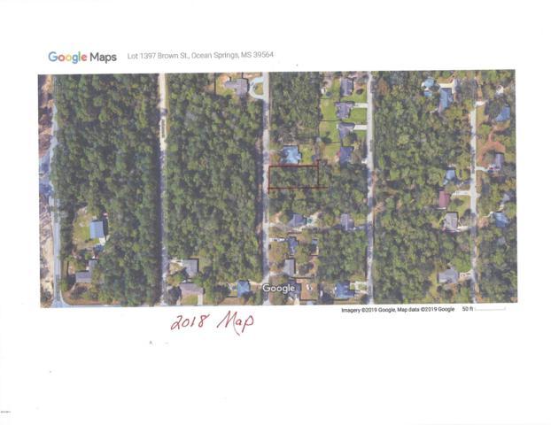 Lot 1397 Brown St, Ocean Springs, MS 39564 (MLS #346263) :: Coastal Realty Group