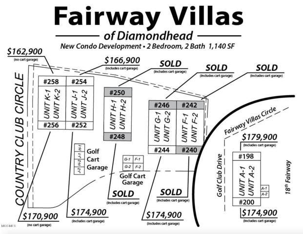 252 Fairway Villas Cir J1, Diamondhead, MS 39525 (MLS #346922) :: Coastal Realty Group