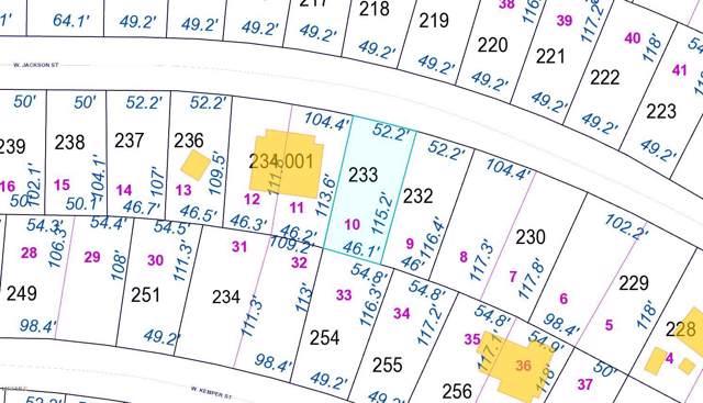 Lot 10 W Jackson St, Bay St. Louis, MS 39520 (MLS #355505) :: The Sherman Group