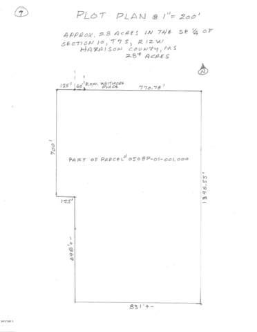 0 Whitmore Pl, Gulfport, MS 39503 (MLS #356784) :: The Sherman Group
