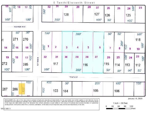 0 10th St, Bay St. Louis, MS 39520 (MLS #357309) :: Coastal Realty Group