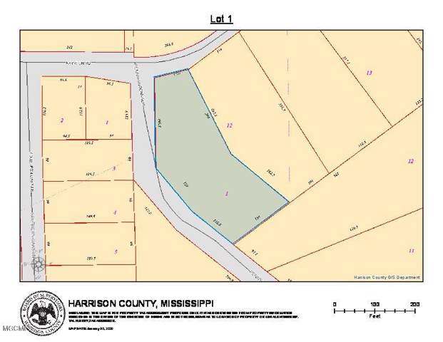 Lot 1 Johnson Rd, Long Beach, MS 39560 (MLS #358119) :: The Sherman Group