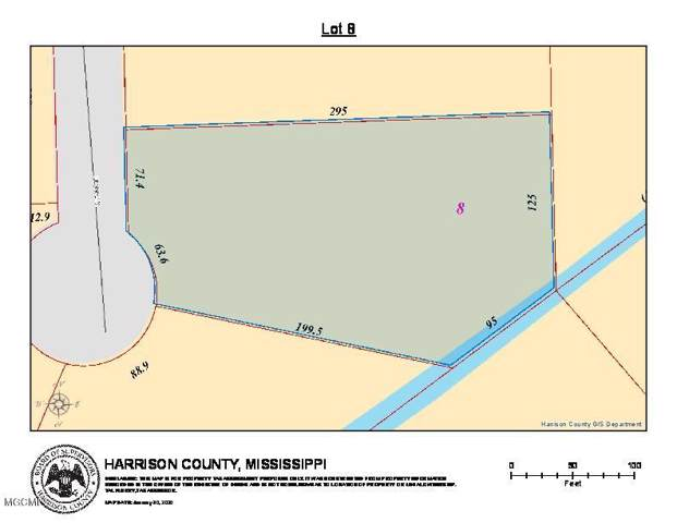 Lot 8 Penny Ln, Long Beach, MS 39560 (MLS #358124) :: The Sherman Group