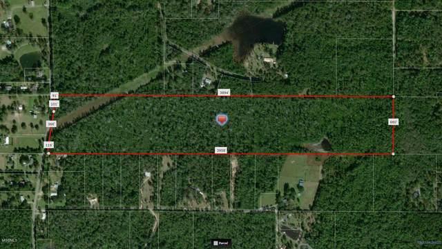 60 Acres Mt Pleasant, Vancleave, MS 39565 (MLS #358585) :: Coastal Realty Group