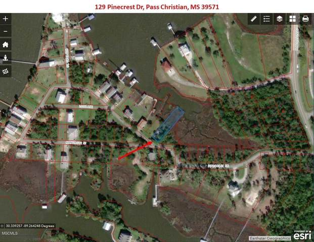 129 Pinecrest Dr, Pass Christian, MS 39571 (MLS #359557) :: Berkshire Hathaway HomeServices Shaw Properties