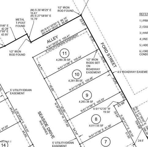 4512 W Beach Blvd Lot 10, Gulfport, MS 39501 (MLS #361172) :: The Sherman Group