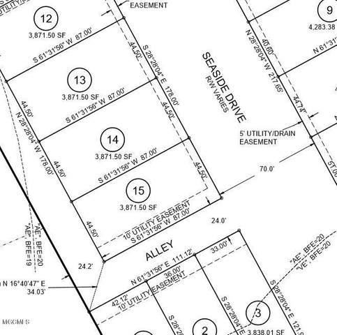 4512 W Beach Blvd Lot 14, Gulfport, MS 39501 (MLS #361174) :: The Sherman Group