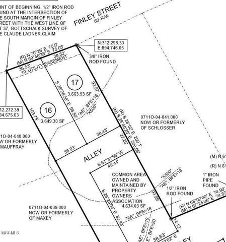 4512 W Beach Blvd Lot 16, Gulfport, MS 39501 (MLS #361175) :: The Sherman Group