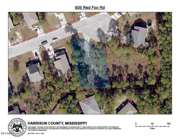 806 Red Fox Rd, Pass Christian, MS 39571 (MLS #361611) :: Berkshire Hathaway HomeServices Shaw Properties