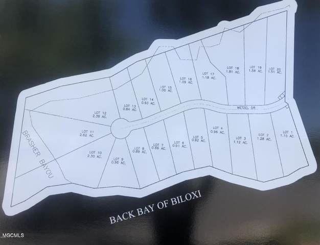 Lot 11 Wetzel Dr, Biloxi, MS 39532 (MLS #362365) :: Coastal Realty Group