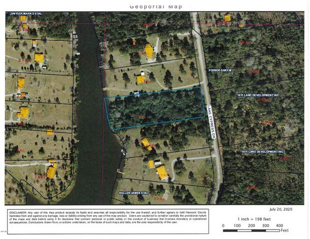 Lot 50 Lake Cypress Dr, Perkinston, MS 39573 (MLS #364170) :: Berkshire Hathaway HomeServices Shaw Properties