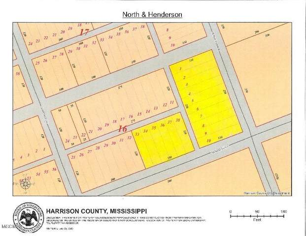0 North St, Pass Christian, MS 39571 (MLS #364844) :: Berkshire Hathaway HomeServices Shaw Properties