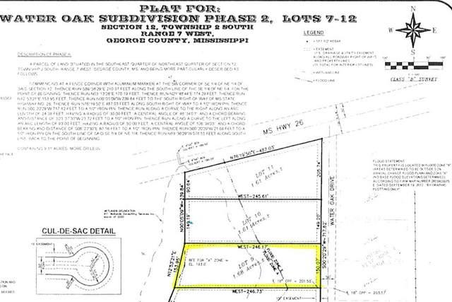 Lot  9 Water Oak Dr, Lucedale, MS 39452 (MLS #367287) :: Keller Williams MS Gulf Coast