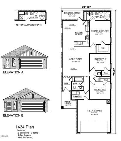 Lot 101 Fieldcrest Way, Gulfport, MS 39503 (MLS #367792) :: The Demoran Group of Keller Williams