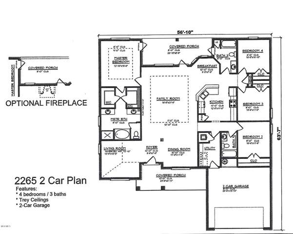 Lot 26 Emerald Lake Estates, Biloxi, MS 39532 (MLS #368956) :: Berkshire Hathaway HomeServices Shaw Properties