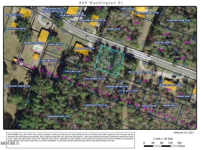 848 Washington St, Bay St. Louis, MS 39520 (MLS #371702) :: Berkshire Hathaway HomeServices Shaw Properties