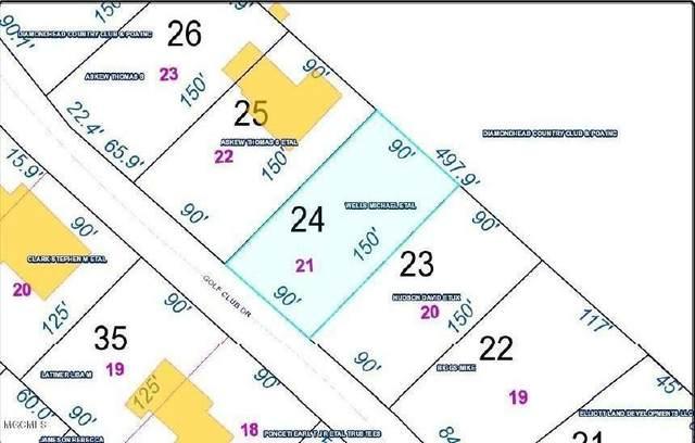 0 Golf Club Dr, Diamondhead, MS 39525 (MLS #372044) :: Coastal Realty Group