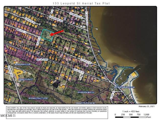 133 Leopold St, Bay St. Louis, MS 39520 (MLS #372117) :: The Sherman Group