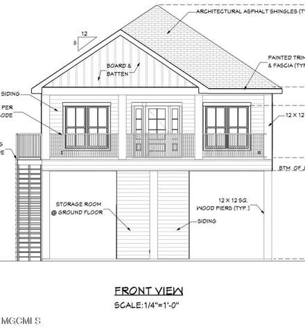 Lot 8 5th St, Pass Christian, MS 39571 (MLS #373424) :: Berkshire Hathaway HomeServices Shaw Properties