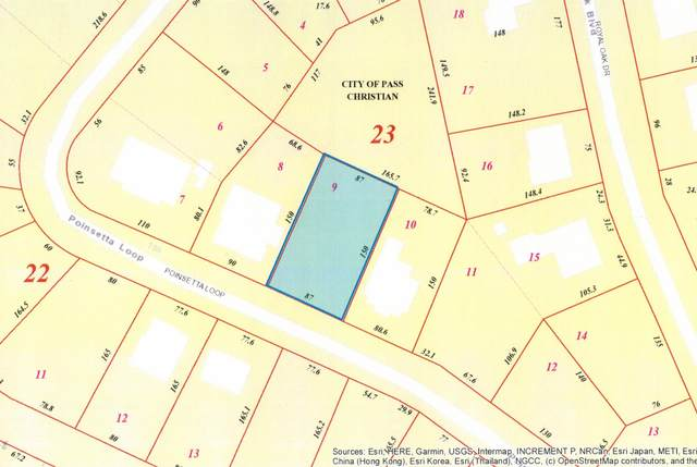 Lot 9 Poinsetta Loop, Pass Christian, MS 39571 (MLS #373617) :: The Sherman Group