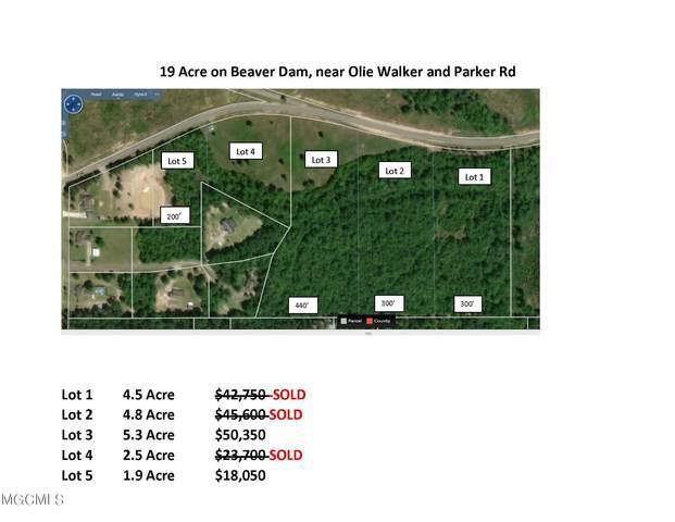 Lot 3 Beaver Dam Rd, Mchenry, MS 39561 (MLS #374463) :: Berkshire Hathaway HomeServices Shaw Properties