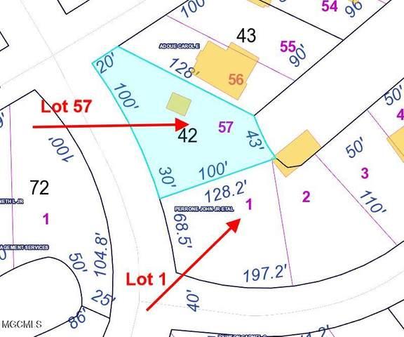 Lot 57 & 1 Chapman Dr, Bay St. Louis, MS 39520 (MLS #375251) :: Biloxi Coastal Homes