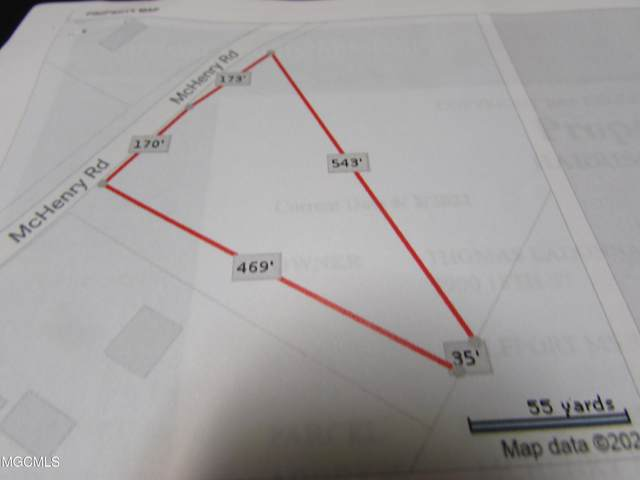 0 Mchenry Riceville Rd, Saucier, MS 39574 (MLS #376139) :: Biloxi Coastal Homes