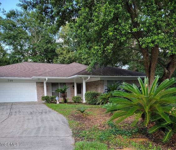 796 Koko Pl, Diamondhead, MS 39525 (MLS #376161) :: Berkshire Hathaway HomeServices Shaw Properties