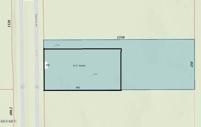 0 Hwy 49, Saucier, MS 39574 (MLS #376348) :: Biloxi Coastal Homes