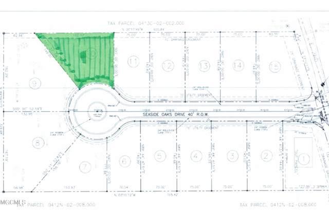Lot 10 Seaside Oaks Dr, Pass Christian, MS 39571 (MLS #376530) :: The Sherman Group