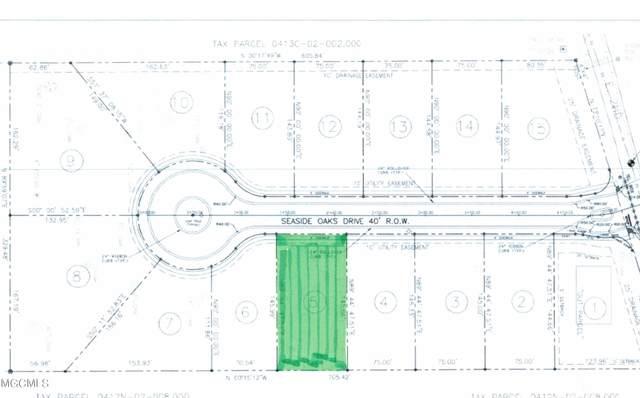 Lot 5 Seaside Oaks Dr, Pass Christian, MS 39571 (MLS #376537) :: The Sherman Group
