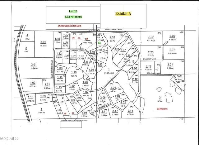 Lot 13 Crabapple Ln, Lucedale, MS 39452 (MLS #378313) :: The Sherman Group