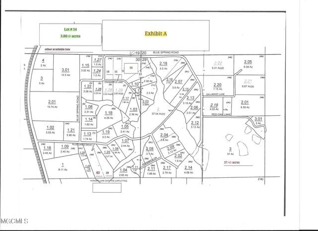 Lot 14 Crabapple Ln, Lucedale, MS 39452 (MLS #378314) :: The Sherman Group